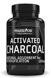 Activated Charcoal - čierne uhlie 100 caps