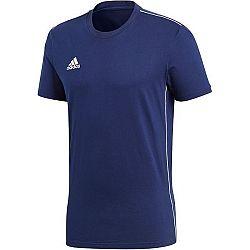adidas CORE18 TEE - Pánske futbalové tričko