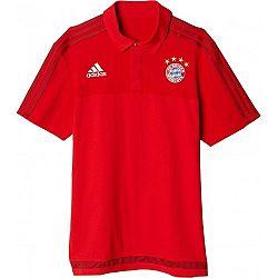 adidas FCB POLO - Pánske tričko