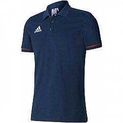 adidas TIRO17 CO POLO - Pánske futbalové tričko