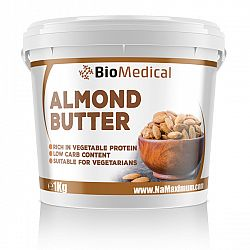 Almond Butter - Mandľové maslo Natural 1kg