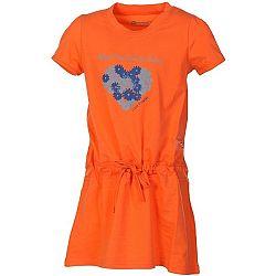 ALPINE PRO TANGERINO - Dievčenské šaty
