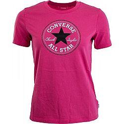 Converse AWT CORE 2 COLOR HTHR CP CREW - Dámske tričko