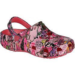 Coqui BIG FROG PRINTED - Detské sandále