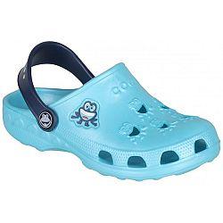 Coqui LITTLE FROG - Detské sandále