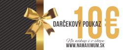 Darčekový poukaz NaMaximum 50€