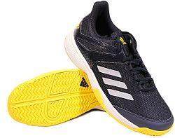 Detská tenisová obuv adidas Adizero Club Black
