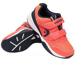 Detská tenisová obuv Head Sprint Velcro 2.5 Red/Dark Blue