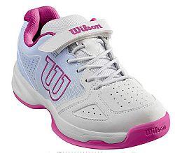 Detská tenisová obuv Wilson Stroke Kids White