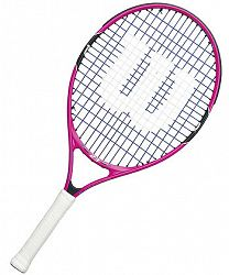 Detská tenisová raketa Wilson Burn Pink 23