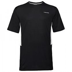 Detské tričko Head Club Tech Black