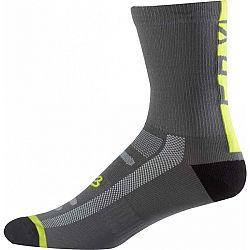Fox Sports & Clothing 8 LOGO TRAIL SOCK - Cyklistické ponožky