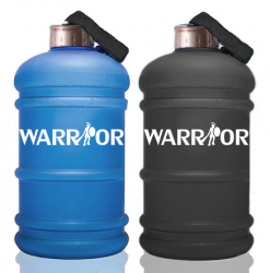 Hydrátor - Kanister na vodu Warrior 2,2l s matným povrchom čierna BLACK