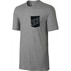 Nike TEE-NIKE BLOCK PKT - Pánske tričko
