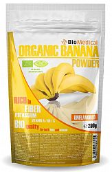 Organic Banana Powder – Bio banánový prášok 200g