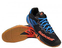 Pánska halová obuv Babolat Shadow Tour Black/Red/Blue