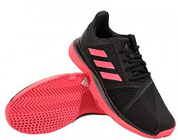 Pánska tenisová obuv adidas CourtJam Bounce Black/Red