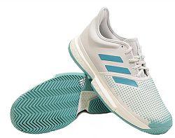 Pánska tenisová obuv adidas SoleCourt Boost Parley White