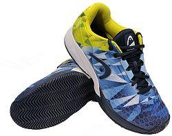 Pánska tenisová obuv Head Revolt Pro 3.0 Clay Dark Blue/Yellow