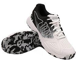 Pánska tenisová obuv Wilson Kaos Devo White/Black