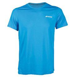 Pánske tričko Babolat Core Flag Club Tee Blue