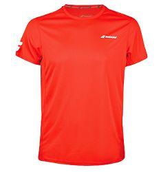 Pánske tričko Babolat Core Flag Club Tee Red