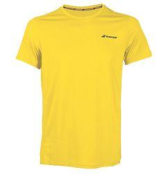 Pánske tričko Babolat Core Flag Club Tee Yellow