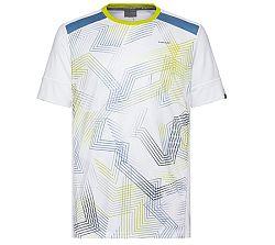 Pánske tričko Head Raquet White/Blue