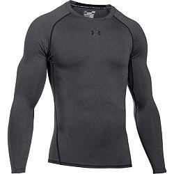 Pánske tričko Under Armour HG Armour LS Grey