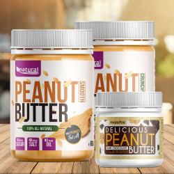 Peanut Butter - Arašidové maslo Crunchy 1kg