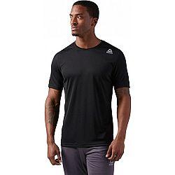 Reebok COMMERCIAL CHANNEL SHORT SLEEVE - Pánske športové tričko