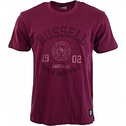 Russell Athletic S/S CREW NECK TEE WITH ROSETTE TWILL - Pánske tričko