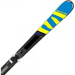 Salomon E X-RACE JR SW + E L7 - Juniorské zjazdové lyže