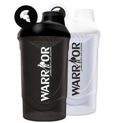 Shaker Warrior 600ml čierny priehľadný 600ml Čierna