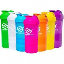 Smart Shake Slim Neon 500ml 500ml modrý NEON BLUE