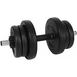 SPORT TEAM VINYL SET 10kg - Jednoručná činka