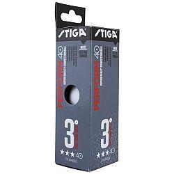 Stiga PERFORM WHTE 3-PACK - Loptičky na stolný tenis