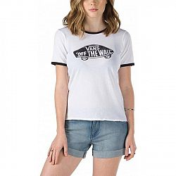 Vans G AUTHENTIC SKATE RINGER T-SHIRT - Dámske tričko