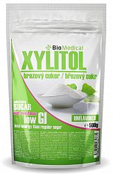 Xylitol - brezový cukor Natural 1kg