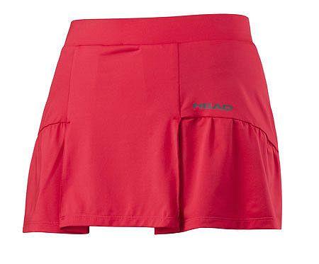 Dámska sukňa Head Club Basic Skort Red