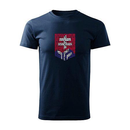Detské tričko Hockey Slovakia logo z hymny