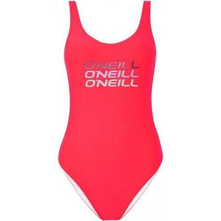 O'Neill PW LOGO TRIPPLE SWIMSUIT - Dámske jednodielne plavky
