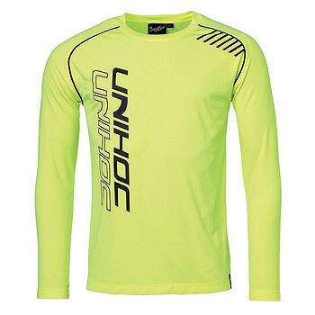 Tričko Unihoc Warm-Up Longsleeve Žlté